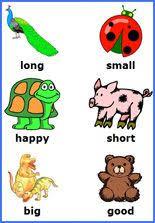 free preschool opposite words matching games free printable