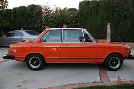 inka orange bmw 2002 bmw 2002tii inka orange clean no complete restoration