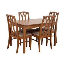 oak kitchen furniture 80 wood kitchen table and floral upholstered chairs tables
