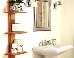 bathroom shelf idea shelf ideas for bathroom justget club