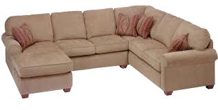 Furniture Gorgeous King Hickory Sectional For Living Room - Hickory leather sofa