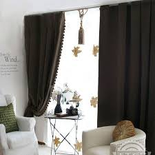 Blackout Curtains For Bedroom Fabulous Blackout Flocking Blend Heat Insulation Suede Bedroom