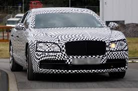 bentley front new bentley continental flying spur spied auto express