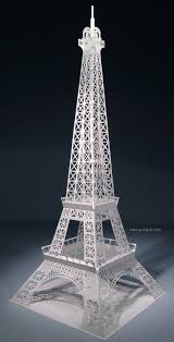 Free Kirigami Card Templates The Eiffel Tower Pop Up Card Origami Architecture Kirigami