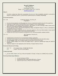 Sample Resume For Internship In Accounting by Good Resume Objectives Appealing Good Resume Examples Good Resume