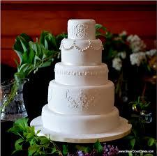 Origami Wedding Cake - fondant wedding cakes gallery
