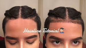 how to style a low hairline how to hairline baby hairs tutorial youtube