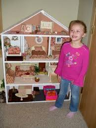 Modistamodesta Another Large Barbie House by Homemade Barbie Doll House Create Pinterest Barbie Doll