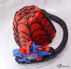halloween spider cake easy spider man cake