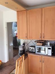 cuisine hetre clair relooker une cuisine en hêtre