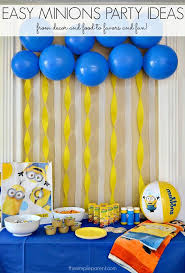 minions party ideas throw a minions or despicable me party with these easy minions