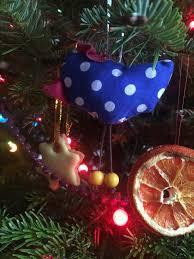 christmas tree diy sewn decorations art cave