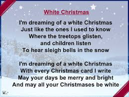 i m dreaming of a christmas songs