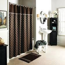 home and garden kitchen curtains quatrefoilshowercurtain better