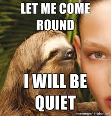 Rape Sloth Memes - sloth whisper meme generator whisper best of the funny meme