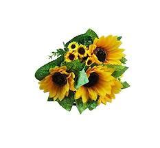 plante pour cuisine 1 tournesol artificiel plante de bouquets cadeau de fête