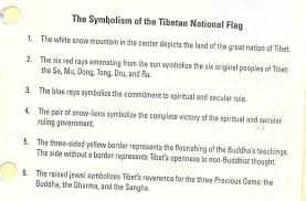 Chinese Flag Stars Meaning Flags And Stamps Tibet National Flag And Its Symbolism
