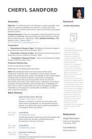 sample teacher resume templates to download