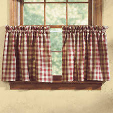 Cafe Tier Curtains Park Designs Cafe Tier Curtains Ebay