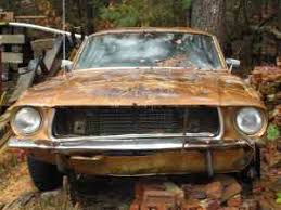 mustang for sale california 1968 california special project car rustingmusclecars com