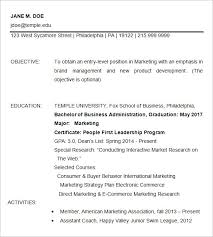 American Resume Examples by 15 Business Resume Templates U2013 Free Samples Examples U0026 Formats