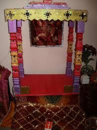 decoration ideas for ganpati utsav jai malhar theme home