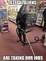 Meme Maker Aliens - vacuuming alien meme generator imgflip