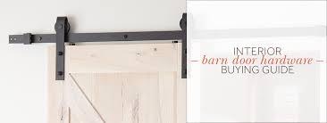 can you use an existing door for a barn door interior barn door hardware buying guide
