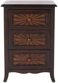 3 drawer accent table amh4037a accent tables furniture by safavieh