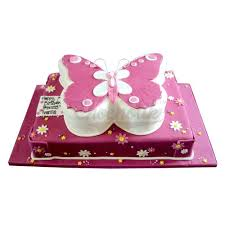 pink butterfly cake chandigarh cakes delivery home delivery of