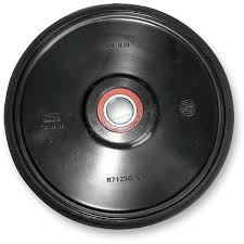 parts unlimited black idler wheel w bearing 4702 0094 snowmobile