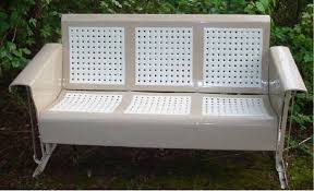 Retro Patio Furniture Vintage Glider Company Metal Gliders Old Porch Gliders Vintage