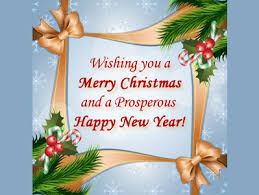 merry and best wishes for the new year merry