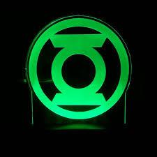 green lantern neon light the green lantern superhero acrylic led light sign led