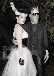 Zombie Bride Groom Halloween Costumes Diy Halloween Bridal Costume Inspiration Wow Goodwill