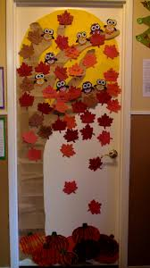 Red Ribbon Door Decorating Ideas Decoration Appealing Fall Classroom Door Decorating Ideas Photo