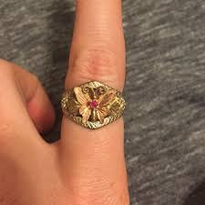 butterfly rings gold images Jewelry black hills gold butterfly ring poshmark jpg