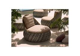 Dedon Outdoor Furniture by Dala Lounge Chair Dedon Milia Shop