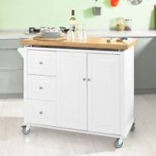 bamboo kitchen island bamboo kitchen islands carts with drawers ebay