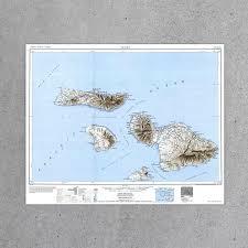 Molokai Map Maui Hi 1951 Usgs Map