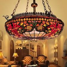 Tiffany Chandelier Lamps Byb Vintage Tiffany Style Chandelier Ceiling Lighting Hanging Lamp