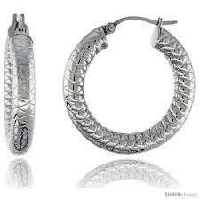 tight hoop earrings surgical steel hoop earrings 1 4 in 5 mm thick tight