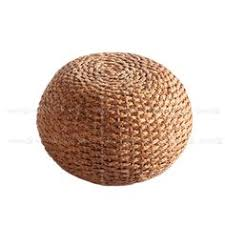 Rattan Pouf Ottoman Rattan Pouf From Outfitters Rattan Living Rooms And Room