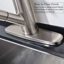 ufaucet commercial stainless steel single lever single handle pull