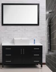 White Bathroom Vanity With Black Granite Top - bathroom cabinets engaging white bathroom cabinets with dark