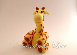 giraffe cake topper birthday cake toppers prepared with