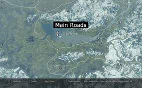 Picture Of Map Skyrim Mod