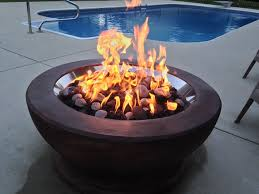 Gas Firepit Kit 31 Inch Manual Ignition Gas Pit Kit S Gas