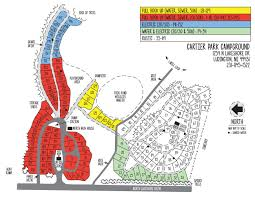 Michigan Area Code Map Cartier Park Campground Ludington Mi Official Website