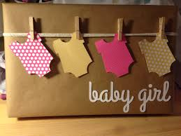 Simple Baby Shower Ideas by Baby Shower Gift Wrap If Any One Knows The Original Source For